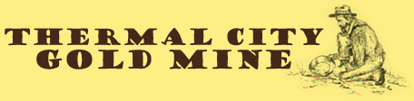 Thermal City Gold Mine Logo